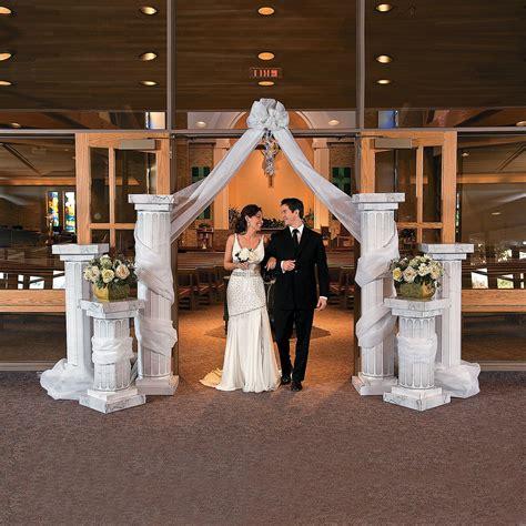 3400 Two Tall Pillars Wedding Columns Orientaltrading
