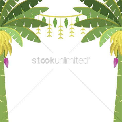 hanging lights for banana trees with toran vector image 1244172