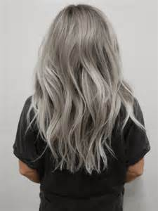 Grey Hair Color Trends 2016
