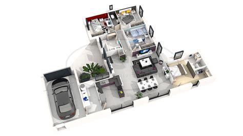 plan maison moderne 5 chambres plan des maison 2 chambre 3d maison moderne
