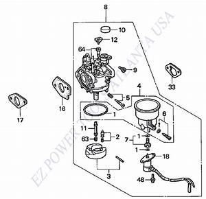 6500 Onan Generator Carburetor Parts Diagrams