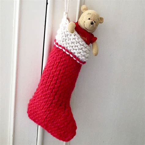 christmas stocking knit   kit  edamay