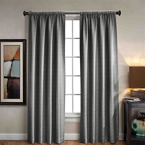 bed bath beyond curtains sonoma rod pocket back tab window curtain panels bed