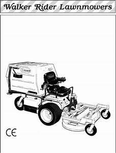 Walker Lawn Mower Mc  20 Hp  User Guide