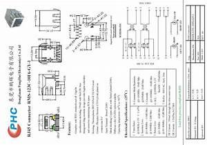 Rj45 Modular Jack Diagram   25 Wiring Diagram Images