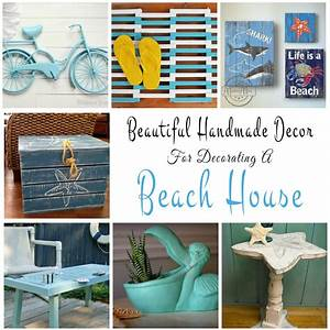 handmade decor ideas for decorating a beach house With house decorating gift ideas