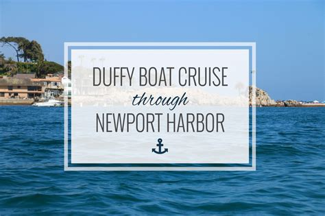 Duffy Boats Newport by Duffy Boat Newport Harbor