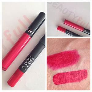 VELVET MATTE LIP PENCIL Dragon Girl de Nars vs CREAM LIP ...