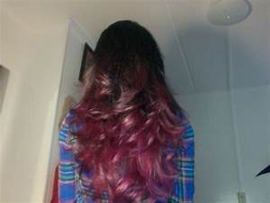 Light Brown Purple Ombre Hair   Medium Hair Styles Ideas ...