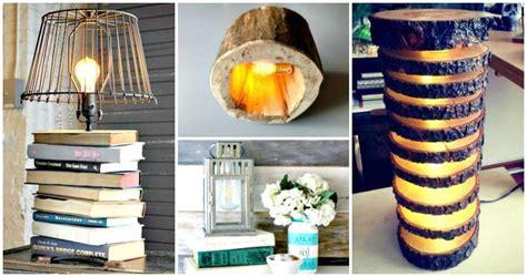 unique diy lamp ideas  light   home creatively