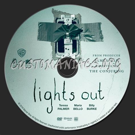 lights out cover lights out dvd label dvd covers labels by customaniacs