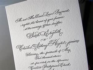 classic black white calligraphy wedding invitations With writing wedding invitations in calligraphy