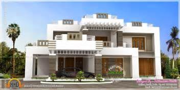 home design gallery 5 bhk contemporary style house exterior home kerala plans