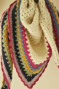 Really Easy Crochet Shawl  A Simple Granny Triangle