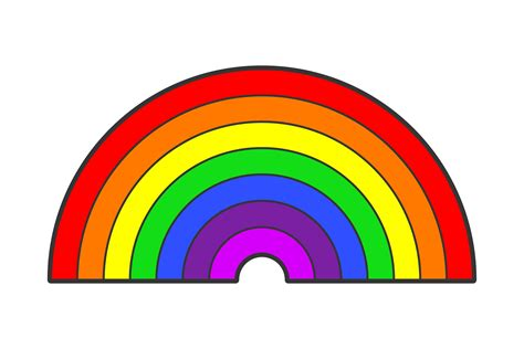 rainbow order colors what are the colors in the rainbow sciencing