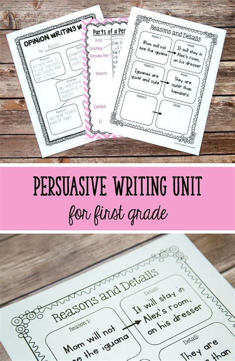 opinion writing lessons images  pinterest
