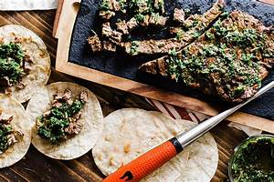 Skirt Steak Chimichurri Tacos Recipe