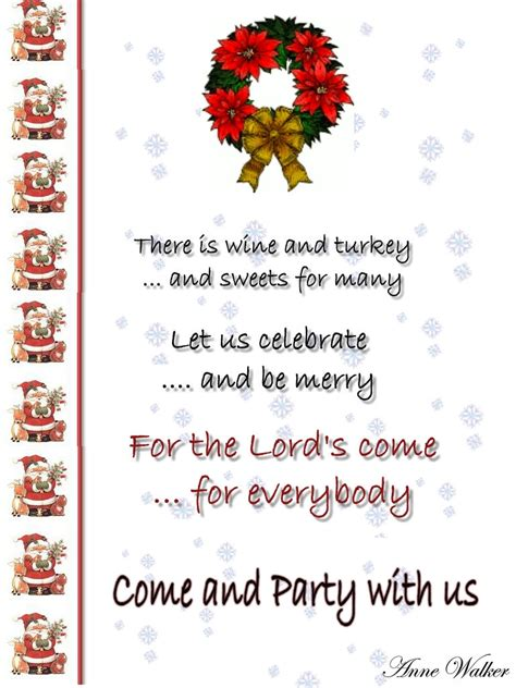Greeting Card Ideas and Tips: Christmas Invitations: Types