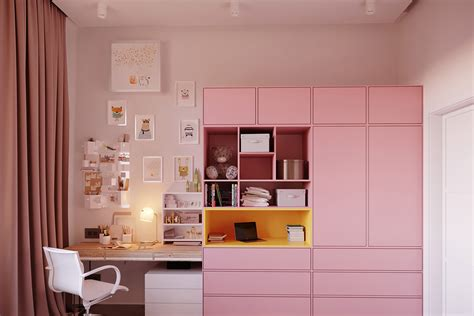 Pink Kitchen Design Ideas Inspiration Tips Photos Accessories by 53 Inspirational Study Space Designs And Tips You