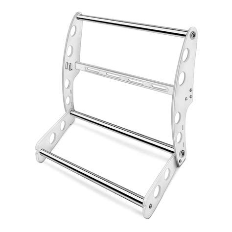Swing Step by Ami 174 19285ws Swing Step Gloss White Push Bar With