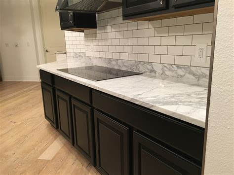 pictures of marble countertops carrara marble countertops in kitchen