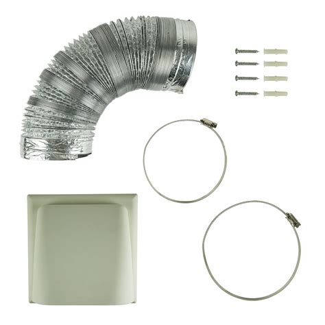 Cooker Vent Kit by Universal 150mm X 3m Kitchen Cooker Vent Ducting Kit
