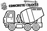 Cranes Vbs Concrete Coloring Crafts Construction Bible During Rotation Vacation Signs Activities Custom Great sketch template