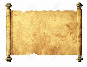 10560007-Old-parchment-Isolated-over-white-Stock-Photo ...