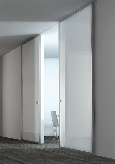 white lacquer glass panel stainless steel door