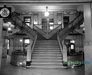 Fayette County courthouse stairway, 1960 | Kentucky Photo ...
