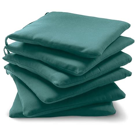set of 6 chair pads 155304 patio furniture at sportsman
