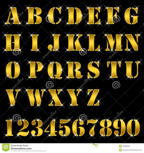gold alphabet 3d letters stock photography image 29339742 gold letters alphabet numbers royalty free stock images 75864