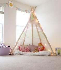 tipi kinderzimmer indianer tipi zelt fürs kinderzimmer selber bauen kreative ideen tipps