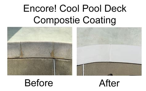 hydropoolcom encore cool pool concrete deck composite