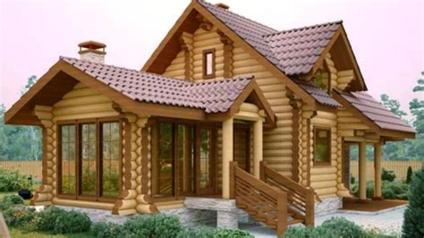 Wooden Houses : Over Wood House And Tree Wood House Design Ideas Part.