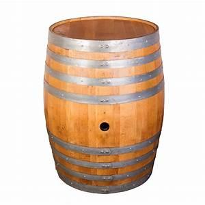 Vintage French Oak Whole Refinished Wine Barrels