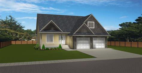 house plan  bungalow  bonus room  garage  edesignsplansca high roof