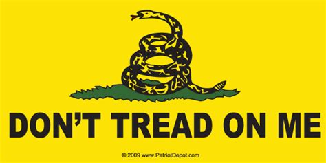 Don T Tread On Me Wallpaper Don 39 T Tread On Me Bumper Sticker 5 Pack Patriot Depot