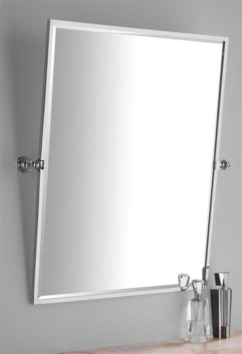 Tilting Bathroom Mirror by Mirror Tilting Rectangular Height 749mm Width 717 Mm
