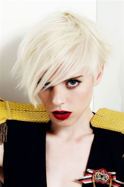 latest short funky hairstyles  women  styles  life