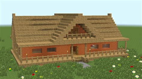 Wooden House In Minecraft - minecraft how to build 2 room wooden house 2