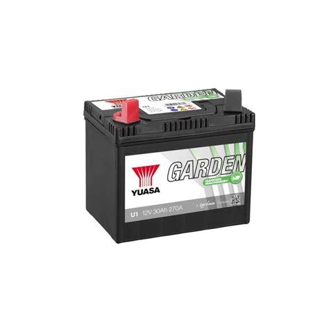 batterie yuasa garden   gauche ah  batteries