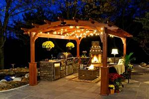 Solar Pergola Lights 28 Gazebo Lighting Ideas And Projects For Your Backyard