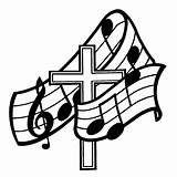 Cool Crosses Draw Cliparts Easy Christian Coloring Clip Pages Church Religious Clipart Choir Gospel sketch template