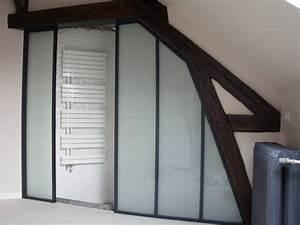 Salle De Bain Style Atelier : quel type de cloison verri re atelier d 39 artiste pour quelle pi ce ~ Teatrodelosmanantiales.com Idées de Décoration