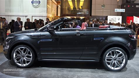 2018 Range Rover Evoque Convertible Spotted During Photo