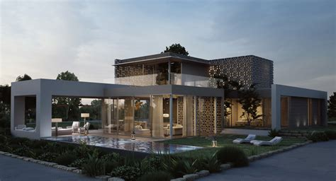 inspiring beautiful house architecture photo eco golf house 3d rendering by studio aiko homedsgn