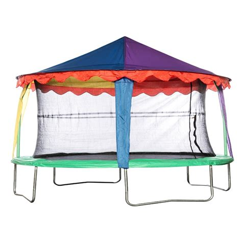 bazoongi 14ft x 17ft oval circus tent canopy all