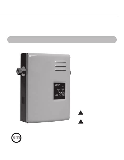 Rheem Tankless Electric Rte Use Care Manual Free