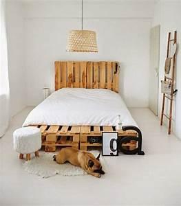 Bett Auf Paletten : m bel aus paletten peppen das innendesign auf ~ Michelbontemps.com Haus und Dekorationen